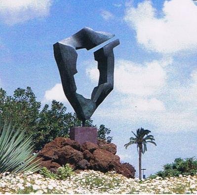 El jardin de las hesperides la palma esculturas en for Esculturas en jardines