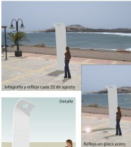 Una escultura recordará a las víctimas del vuelo JK5022 en Telde