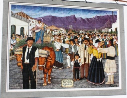 """MURAL """"ROMERIA DE LOS LABRADORES"""""""