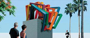 La plaza de Carvajal estrena escultura de Juan José Gil