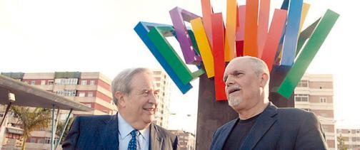 Inauguran la escultura 'Concordia' del grancanario Juan José Gil