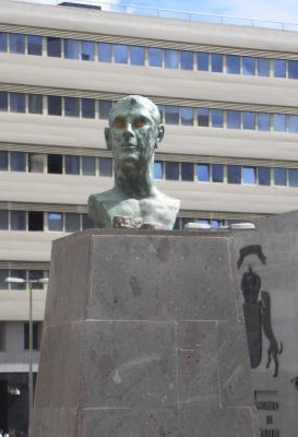 MONUMENTO A RAFAEL O'SHANAHAN BRAVO DE LAGUNA