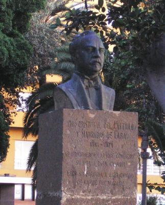 MONUMENTO HOMENAJE A CRISTOBAL DEL CASTILLO Y MANRIQUE DE LARA