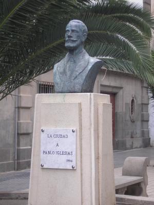MONUMENTO A PABLO IGLESIAS