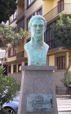 MONUMENTO A BALTASAR CHAMPSAUR SICILIA