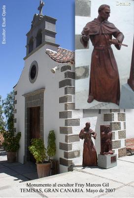 ESCULTURA HOMENAJE AL ESCULTOR FRAY MARCOS GIL