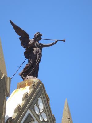 ESCULTURA ANGEL DEL SILENCIO