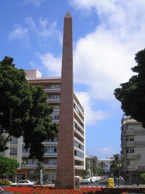 OBELISTO DE LA PLAZA DE LA CONSTITUCION