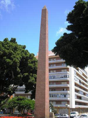 OBELISCO DE LA PLAZA DE LA CONSTITUCION