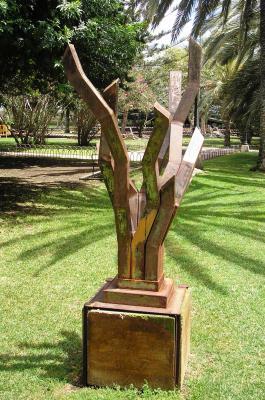 ESCULTURA LOS CARDONES - 2006