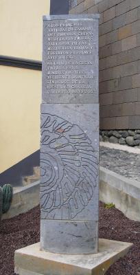 MONUMENTO A LOS PRIMEROS ARTISTAS DE CANARIAS
