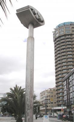 MONUMENTO A LAS OLIMPIADAS DE BARCELONA 92