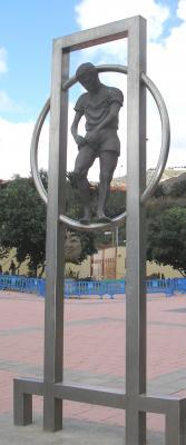 ESCULTURA LOS GUARDIANES DEL TERRERO