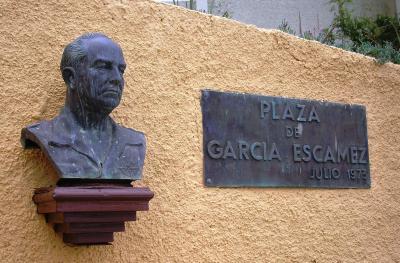 BUSTO DEL GENERAL GARCIA ESCÁMEZ