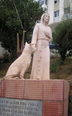 MONUMENTO A SAN FRANCISCO DE ASIS
