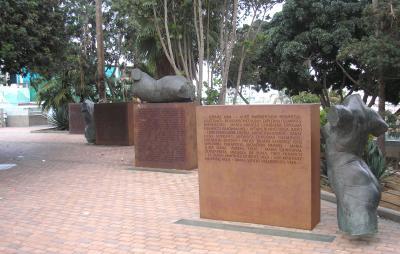 MONUMENTO HOMENAJE A LOS OLIMPICOS DE LA PROVINCIA DE LAS PALMAS