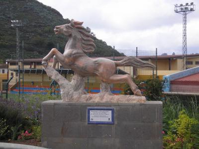 HOMENAJE A LA TRADICINAL CARRERA DE CABALLOS DE LAS FIESTAS DE SAN MATEO