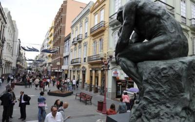 Siete esculturas de Rodin pasarán la Navidad en Triana