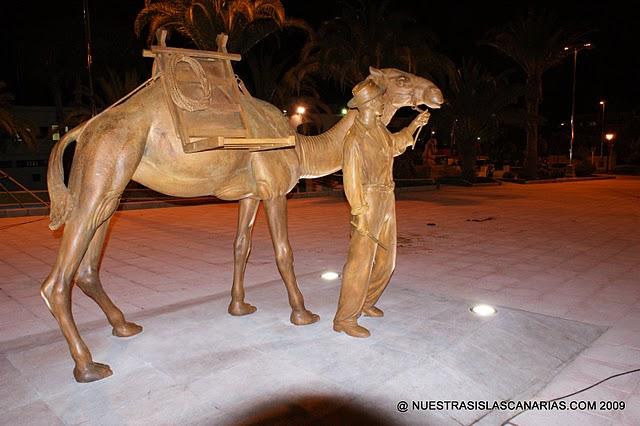 Homenaje al Camellero y el Camello en San Fernando de Maspalomas