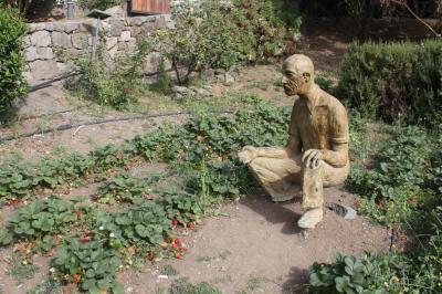 ESCULTURA HOMENAJE AL  AGRICULTOR