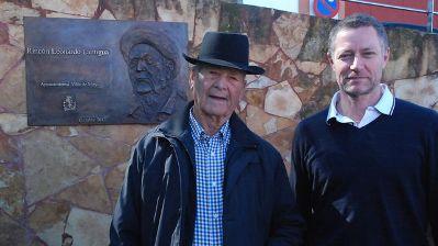 'Leonardito' ya tiene su rincón en Fontanales