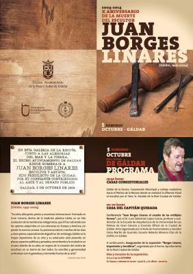 Gáldar rememora la vida y obra de su insigne artista Juan Borges Linares